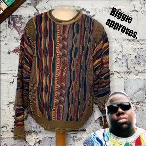 J. Ferrar mens XL vintage sweater